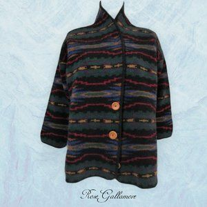 REI Southwest Pattern Wool Cardigan